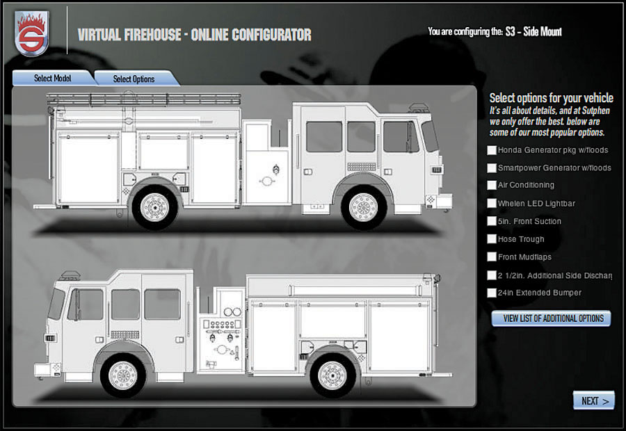 build your own fire truck triad marketing media