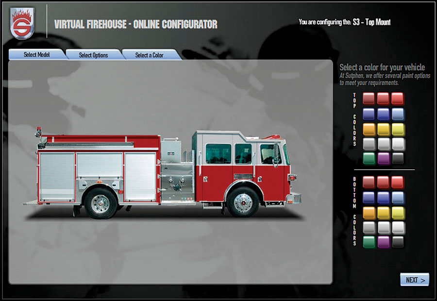 Build your own fire truck triad marketing media for Building builder online