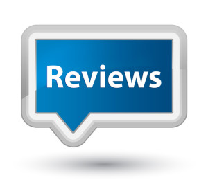 Reviews prime blue banner button
